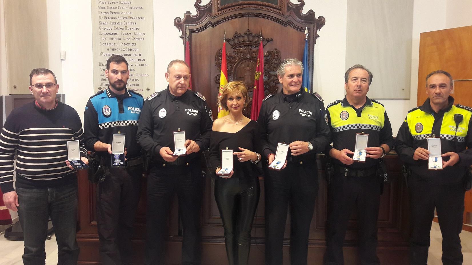 La Policía Local reconocerá la labor de los agentes por sus «servicios de trascendental importancia»