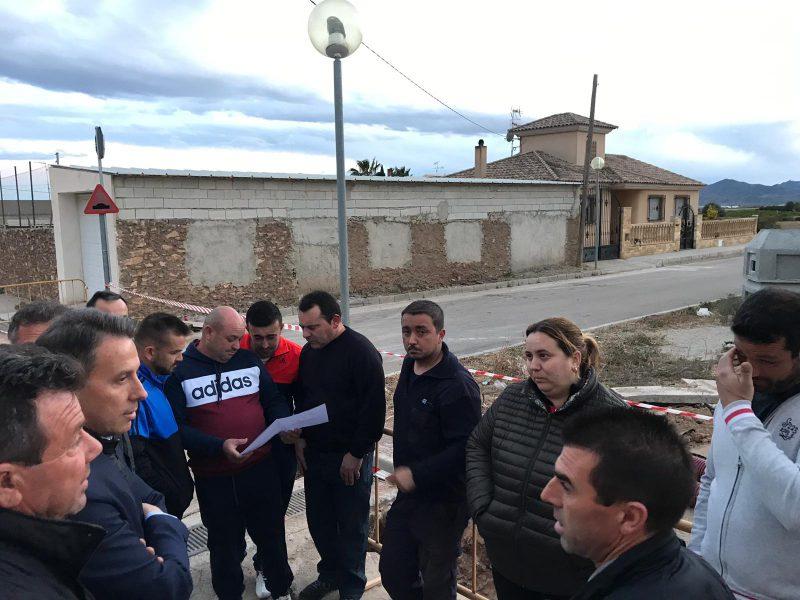 Decenas de familias de Almendricos contarán con suministro eléctrico definitivo
