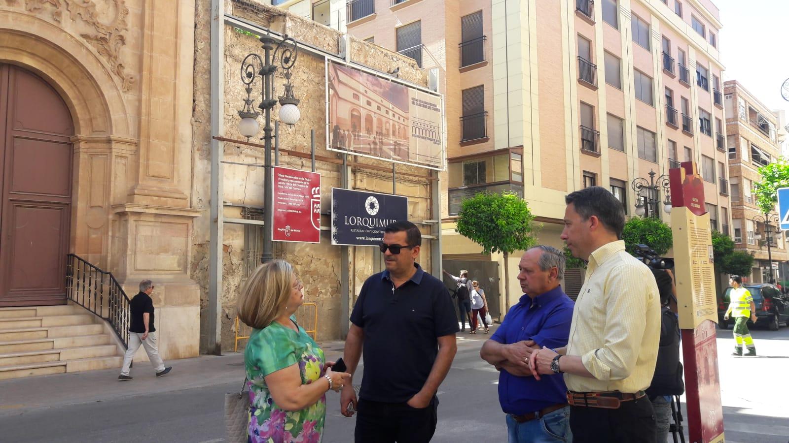 El Claustro de la Iglesia del Carmen acogerá el Museo del Vía Crucis y una plaza pública