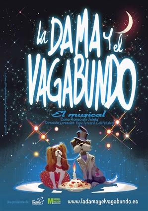 «La Dama y el Vagabundo», finalista al Mejor Musical Familiar en los Premios del Teatro Musical