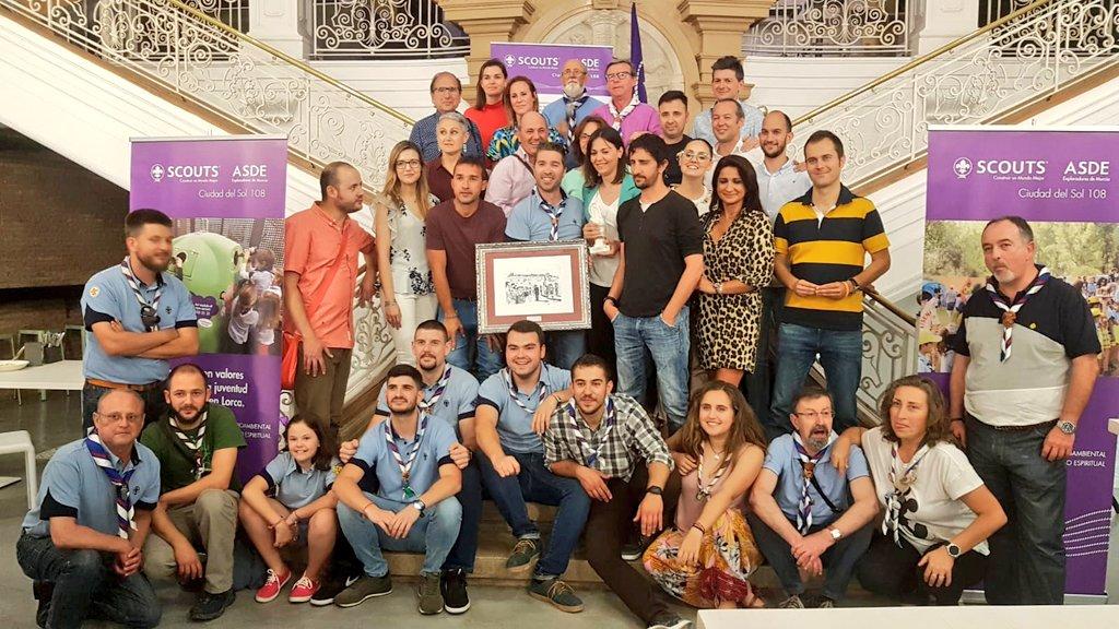 Parque Almenara 'Saludo Scout 2018' por su esfuerzo en pro de la mejora medioambiental